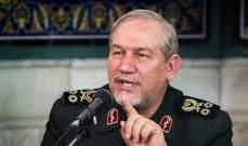 قائد عسكري إيراني: انتصارات الشعوب بلبنان والعراق وسوريا تحققت بفضل المقاومة