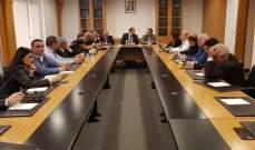 لقاء بين المجلس الاقتصادي والاجتماعي والفريق الاقتصادي لرئيس الحكومة