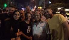 سعد خلال مشاركته في اعتصام صيدا: هنا في هذه الساحة لبنان الحقيقي