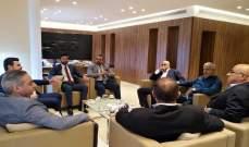 وفد من الحزب الديمقراطي اللبناني زار مكتب حزب التوحيد العربي في بيروت