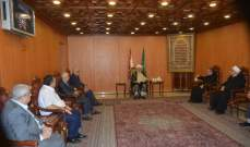 الشيخ الخطيب استقبل وفدا من اتحاد المؤسسات التربوية الخاصة