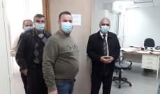 فقيه جال على السراي الحكومي في بنت جبيل:للالتزام بالقوانين وارتداء الكمامة