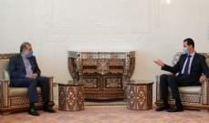 الأسد: قضية اللاجئين سورية لكن حلها يعتمد على مدى نزاهة الدول التي تجهد لتسييس الملف