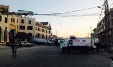 """""""النشرة"""": قطع طريق مفترق المرج وطرق عام الفاعور- زحلة من قبل محتجين"""