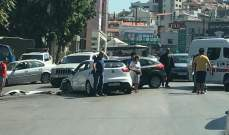 النشرة: جرحى بحادث سير وقع على طريق بيت الكيكو- المتن