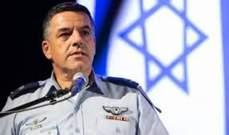قائد سلاح الجوّ الإسرائيلي: تواجهنا في الشمال منظومة صواريخ خطيرة