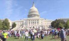 احتجاجات في العاصمة الأميركية من أجل التغيّر المناخي