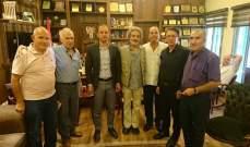 المحافظ خضر التقى وفدا من الجمعيات البيئية والسياحية في بعلبك