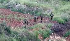 النشرة: 18 جنديا إسرائيليا تجاوزوا السياج التقني في خلة الغميقة بجنوب عيترون