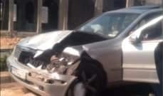 النشرة: 3 جرحى نتيجة حادث سير على بولفار حاصبيا