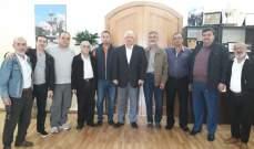 قمرالدين استمع الى مطالب عمال نقابة بلدية طرابلس