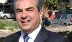 """إدمون غاريوس: قرار إستقالتي لخوض الإنتخابات النيابية اتخذ """"بنسبة 90%"""""""
