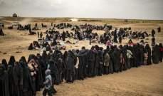 فرار عدد من عائلات مسلحي داعش من مخيم في رأس العين بعد تعرضه للقصف