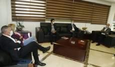 أبي رميا وبكري اطلعا وزير الصحة على مشروع البطاقة الصحية الذكية