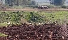 النشرة: قوة إسرائيلية مشطت الطريق العسكري ما بين الوزاني ووادي العسل