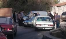 النشرة: 3 جرحى بحادث سير على طريق عام بيت جيدة
