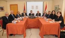 مخيبر:على لبنان أن يحض الدول العربية على التمثل به بإدانة إبادة الأرمن
