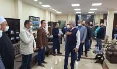 ارسلان زار بلدية الشويفات وأثنى على العمل البلدي والجهود التي تبذل