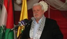 ابو العردات: رفيق الحريري رجل دولة والقضية الفلسطينية كانت في قلبه