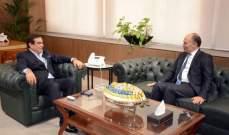 سفير تونس التقى قرداحي: الحرية رمز للبنان والإعلام أصبح السلطة الاولى لما له من دور مهم بمعالجة التحديات