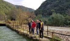 جبران تفقد قناة جر المياه من جعيتا إلى ضبيه: سنباشر تنظفيها وصيانتها