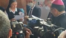الرئيسة العامة لجمعية راهبات العائلة المقدسة المارونيات: نطلب من البابا مبادرة معبرة من أجل إنقاذ لبنان