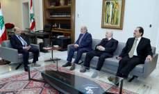 الرئيس ميشال عون التقى عددا من النواب