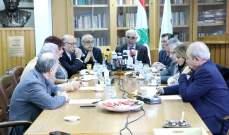 نقباء المهن الحرة أكدوا رفض توطين الفلسطينيين: لتكريس حقوق المواطنين عبر سلطة قضائية مستقلة