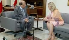 تريسي شمعون تعلن استقالتها من منصب سفيرة لبنان في الاردن