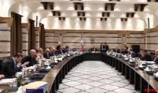 OTV: المشاورات بشأن انعقاد جلسة لمجلس الوزراء تراوح مكانها