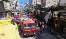 وزارة الداخلية في غزة: قتيل و10 جرحى في