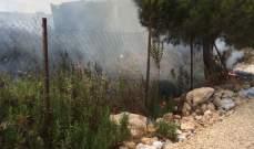 النشرة: اخماد حريق في صيدا وآخر على اوتوستراد الشماع