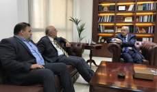 بوسعيد ناقش مع نقابة الأطباء في بيروت آلية حماية لحقوق الأطباء