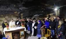 القصيفي ترأس قداس مار مارون في دير العاصي