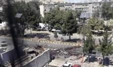 """""""طالبان"""" أعلنت مسؤوليتها عن انفجارين في أفغانستان"""