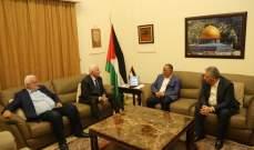 الاحمد يلتقي عضو المكتب السياسي لحركة امل محمد الجباوي