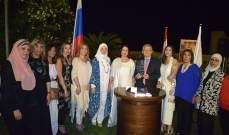 زاسبكين في سحور في صيدا: لتعزيز الروابط الروسية اللبنانية في مختلف المجالات