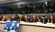 حمادة دعا المانحين في بروكسل لسد الفجوة المالية التراكمية لتعليم النازحين