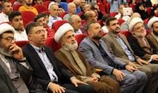 قاسم حيّا الجيش اللبناني: إدانة العدوان وضرورة الرد مشهد مميز لم نشهد مثله في لبنان