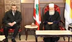 شيخ العقل بحث مع سفير الجزائر الأوضاع العامة والعلاقات الثنائية