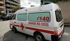 الصليب الأحمر: نقل 28 جريحا إلى المستشفيات وإسعاف 190 مصابا بوسط بيروت