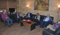 """محافظ الشمال استقبل رئيس حزب """"اللبناني الواعد"""""""