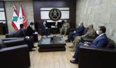 قائد الجيش استقبل السفيرين الصيني والياباني وتداول بعلاقات التعاون
