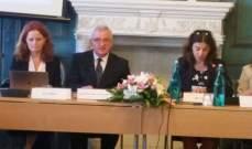 أوغاسابيان: لبنان يلتزم تطبيق اتفاقية الغاء جميع أشكال التمييز ضد المرأة