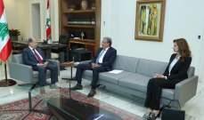 عون أسف لحال الصحافة الورقية:الحرية الاعلامية شكلت الرأي العام اللبناني