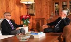فرنجيه استقبل السفير الروسي والمنسقة الخاصة للأمم المتحدة