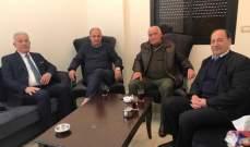 """الأمين العام لـ """"جبهة التحرير الفلسطينية"""" التقى أبو عرب"""