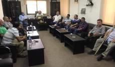 لقاء باتحاد بلديات وسط القيطع ناقش سير العمل بمشروع الصرف الصحي