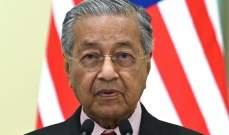 رئيس وزراء ماليزيا عن إسرائيل: لا يمكنك الاستيلاء على أراضي الآخرين وكأنك تعيش بدولة لصوص