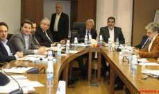 لجنة الادارة تابعت درس قانون انشاء التفتيش المركزي